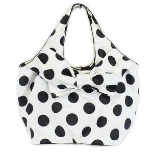 Kate Spade Black & White Polka Dot Handbag